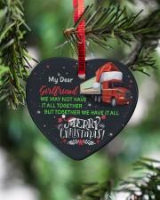 Trucker's Girlfriend - Heart ornament - single (porcelain) aos-heart-ornament-single-porcelain-lifestyles-07