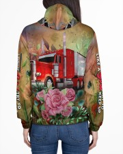 Lady Trucker Women's All Over Print Hoodie aos-complex-women-hoodie-lifestyle-back-01