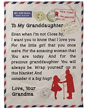 "Gift for Granddaughter  Premium Large Fleece Blanket - 60"" x 80"" front"
