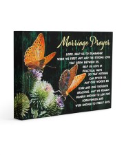 MARRIAGE PRAYER - Premium 14x11 Gallery Wrapped Canvas Prints front