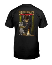 ELECTRICIAN'S  GIRLFRIEND - I'M THE WOLF   Classic T-Shirt thumbnail