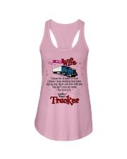 Trucker's Wife Ladies Flowy Tank tile