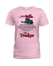 Trucker's Wife Ladies T-Shirt tile