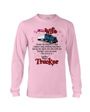 Trucker's Wife Long Sleeve Tee tile