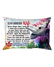 GIFT FOR A PILOT'S WIFE- PREMIUM Rectangular Pillowcase front