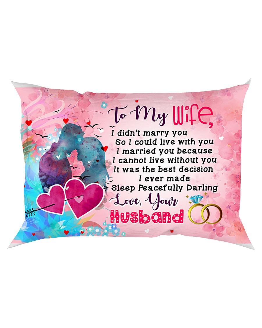GIFT FOR YOUR WIFE - PREMIUM Rectangular Pillowcase