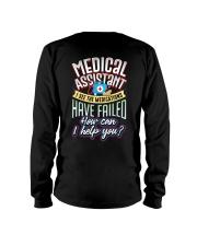 Medical Assistant Long Sleeve Tee thumbnail