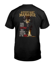 ASSISTANT MANAGER Classic T-Shirt thumbnail