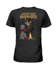 ASSISTANT MANAGER Ladies T-Shirt thumbnail
