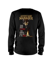 ASSISTANT MANAGER Long Sleeve Tee thumbnail