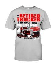 Retired Trucker Classic T-Shirt thumbnail