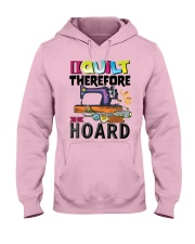 QUILTING Hooded Sweatshirt front