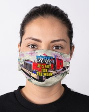 TRUCKER'S WIFE Cloth face mask aos-face-mask-lifestyle-01