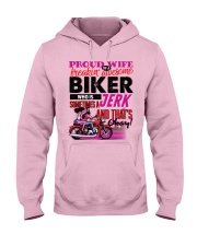 Biker's Wife - Black Friday Sale Hooded Sweatshirt front