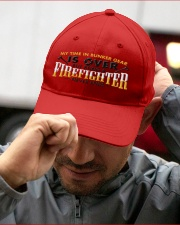 RETIRED FIREFIGHTER Embroidered Hat garment-embroidery-hat-lifestyle-01