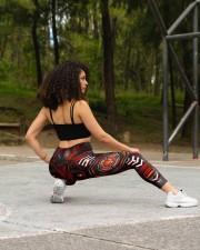 FIREFIGHTER'S WIFE High Waist Leggings aos-high-waist-leggings-lifestyle-13