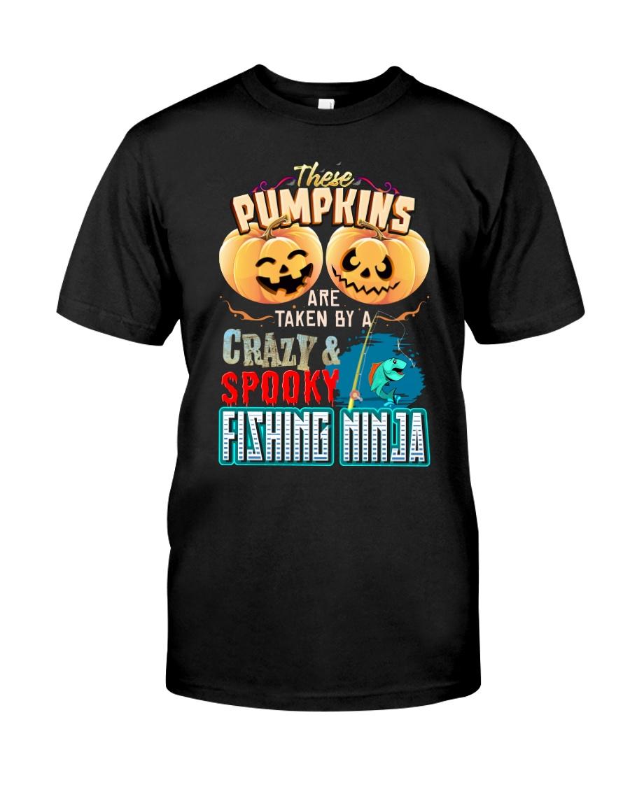 FISHING NINJA'S GIRL Classic T-Shirt