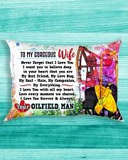 GIFT FOR YOUR WIFE - PREMIUM Rectangular Pillowcase aos-pillow-rectangle-front-lifestyle-5