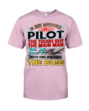 Pilot's Wife Classic T-Shirt thumbnail