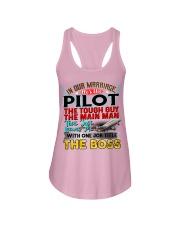 Pilot's Wife Ladies Flowy Tank thumbnail