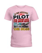 Pilot's Wife Ladies T-Shirt thumbnail