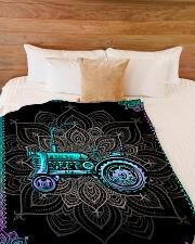 "Farmer Premium Large Fleece Blanket - 60"" x 80"" aos-coral-fleece-blanket-60x80-lifestyle-front-02"