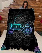 "Farmer Premium Large Fleece Blanket - 60"" x 80"" aos-coral-fleece-blanket-60x80-lifestyle-front-04"
