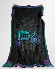 "Farmer Premium Large Fleece Blanket - 60"" x 80"" aos-coral-fleece-blanket-60x80-lifestyle-front-10"