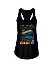 WELDER'S WIFE  Ladies Flowy Tank thumbnail