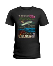 WELDER'S WIFE  Ladies T-Shirt thumbnail