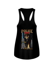POLICE OFFICER'S WIFE - I'M THE WOLF   Ladies Flowy Tank thumbnail