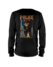 POLICE OFFICER'S WIFE - I'M THE WOLF   Long Sleeve Tee thumbnail