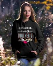 TRUCKER'S WIFE Hooded Sweatshirt lifestyle-holiday-hoodie-front-5