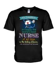 PROUD NURSE'S MOM V-Neck T-Shirt thumbnail