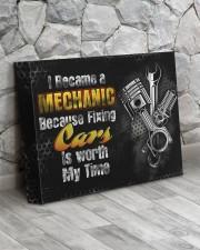 Mechanic- Premium 14x11 Gallery Wrapped Canvas Prints aos-canvas-pgw-14x11-lifestyle-front-13