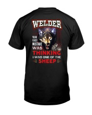 Welder - I'm the Wolf Classic T-Shirt tile