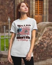 VETERAN'S WIFE Classic T-Shirt apparel-classic-tshirt-lifestyle-06