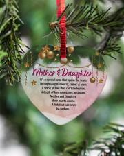 Gift For Mom - Heart ornament - single (porcelain) aos-heart-ornament-single-porcelain-lifestyles-07