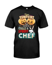 CHEF'S GIRL Classic T-Shirt front