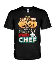 CHEF'S GIRL V-Neck T-Shirt thumbnail