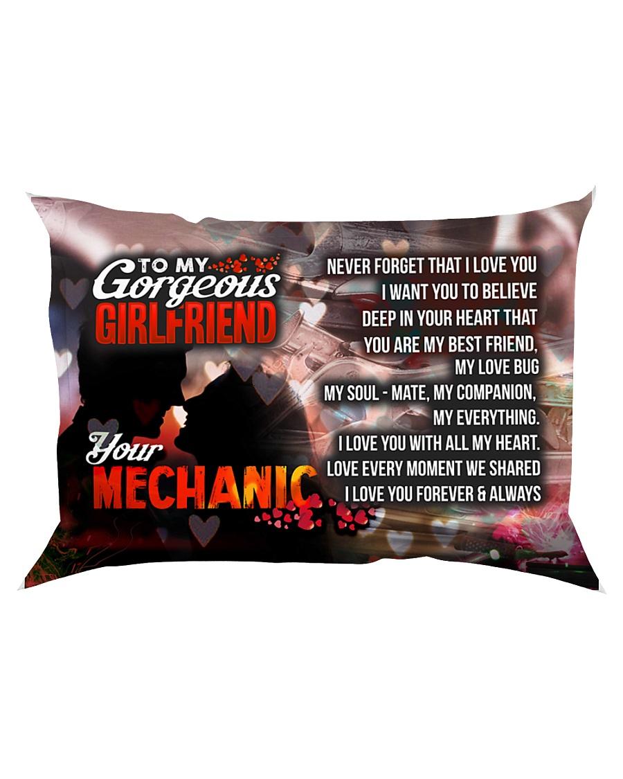 GIFT FOR A MECHANIC'S GIRLFRIEND - PREMIUM Rectangular Pillowcase