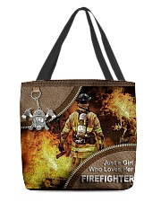 FIREFIGHTER'S GIRL All-over Tote back