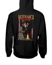 VETERAN'S  GIRLFRIEND - I'M THE WOLF   Hooded Sweatshirt back