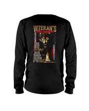 VETERAN'S  GIRLFRIEND - I'M THE WOLF   Long Sleeve Tee thumbnail