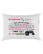 GIFT FOR A FARMER'S GIRLFRIEND  - PREMIUM Rectangular Pillowcase back