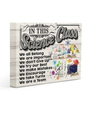 SCIENCE TEACHER - Premium 14x11 Gallery Wrapped Canvas Prints front