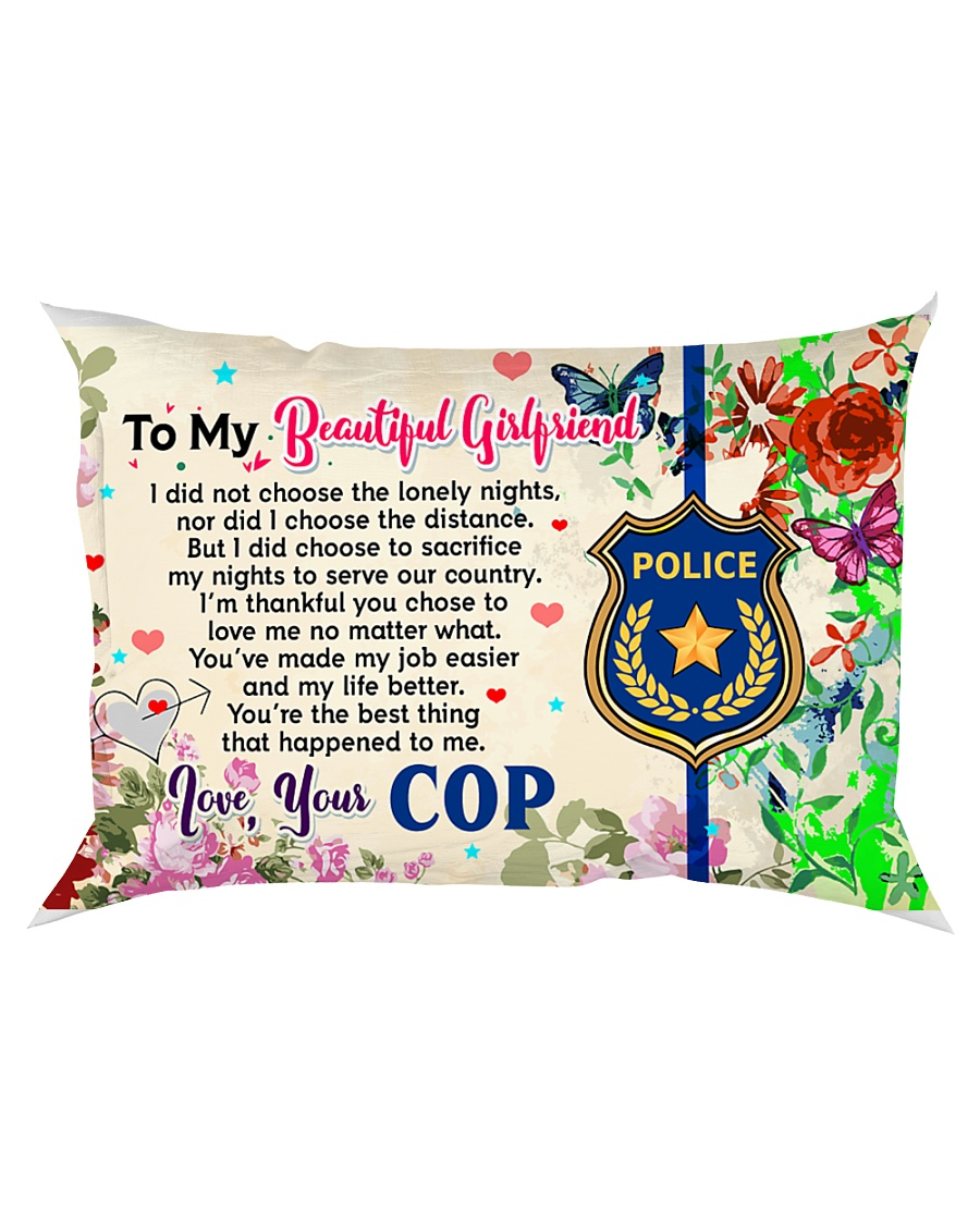 GIFT FOR YOUR GIRLFRIEND - PREMIUM Rectangular Pillowcase
