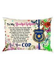 GIFT FOR YOUR GIRLFRIEND - PREMIUM Rectangular Pillowcase front