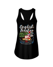 ENGLISH TEACHER - PAST BUYERS EXCLUSIVE Ladies Flowy Tank thumbnail