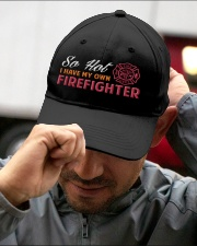 FIREFIGHTER'S GIRL Embroidered Hat garment-embroidery-hat-lifestyle-01